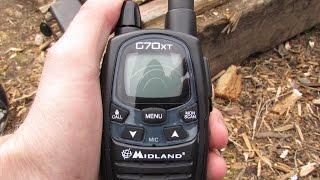 Радиостанции Midland G 70 XT - Обзор
