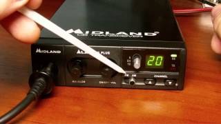 Обзор радиостанции Midland Alan 100 Plus