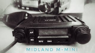 Компактная и дешевая радиостанция Midland M-Mini